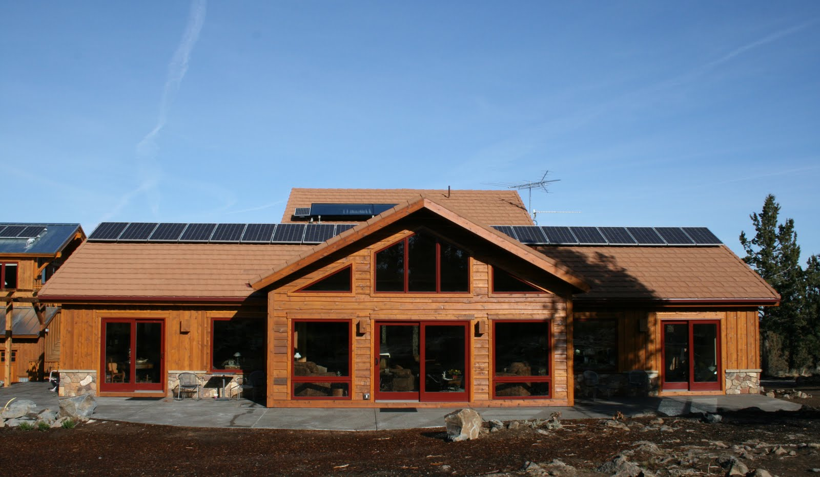 Springs make this is solar panel plans do yourself for Timber frame ranch home plans