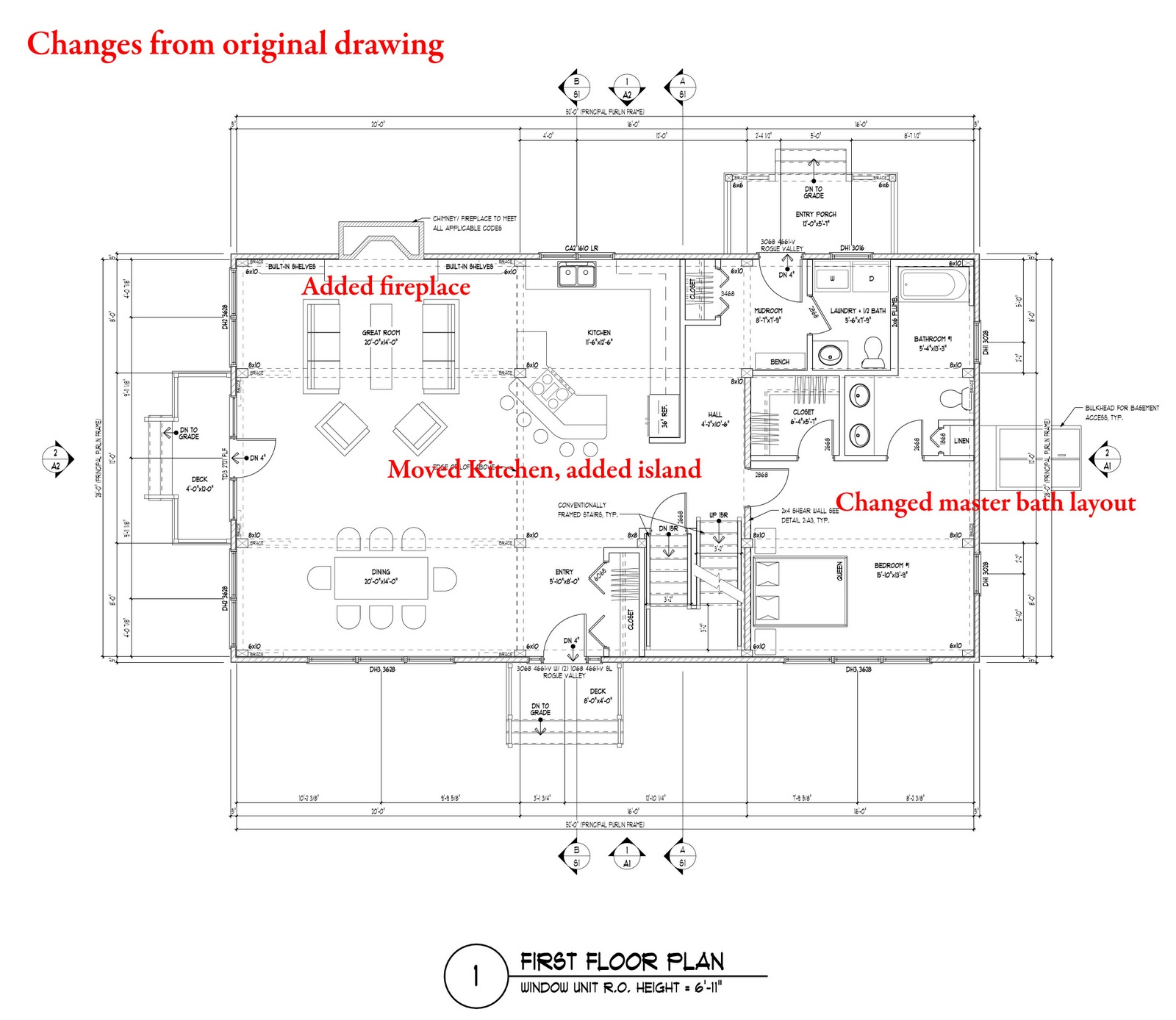 Home ideas for American barn house floor plans