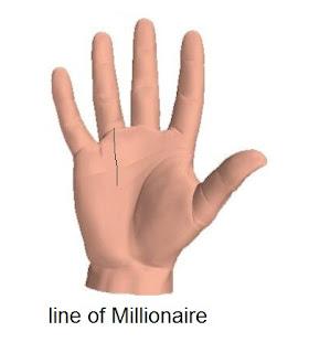 Millionaire Line - Palmistry Lines