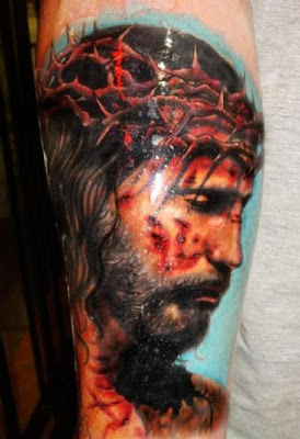 Simple Beauty of the Jesus Cross Tattoo