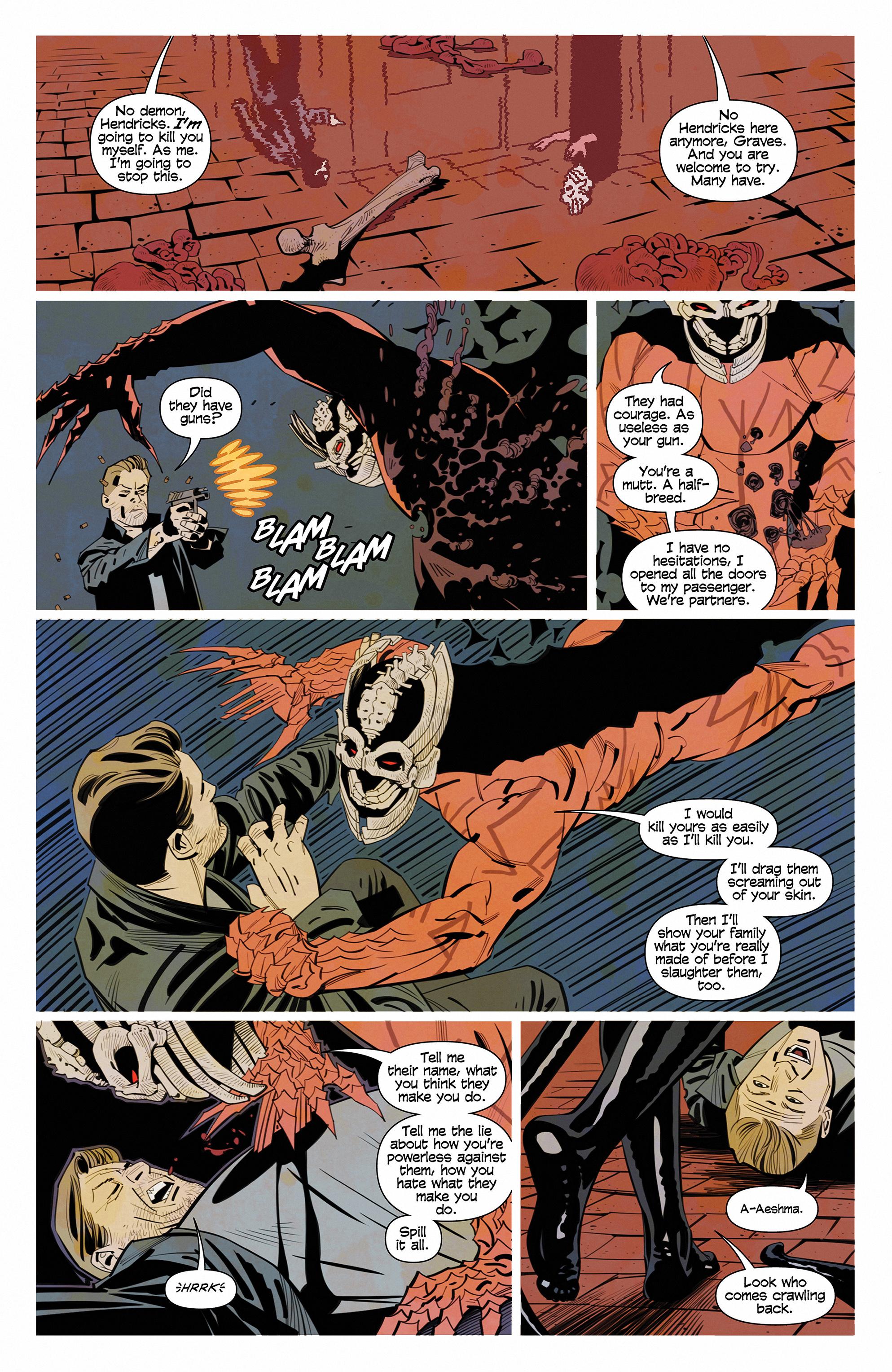 Read online Demonic comic -  Issue #6 - 14