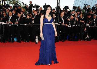 haifa wahbi sur le tapis rouge