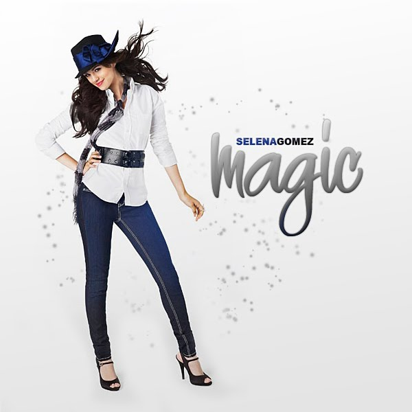 Selena Gomez - Magic (FanMade Single Cover). Made by mikeygraphics