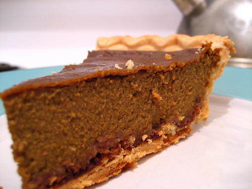 Dying for Chocolate: Chocolate Pumpkin Pie