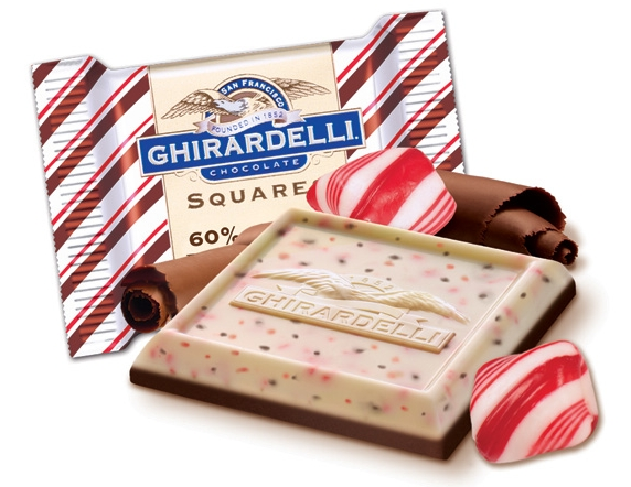 Dying for Chocolate: Ghirardelli Peppermint Bark Contest Giveaway