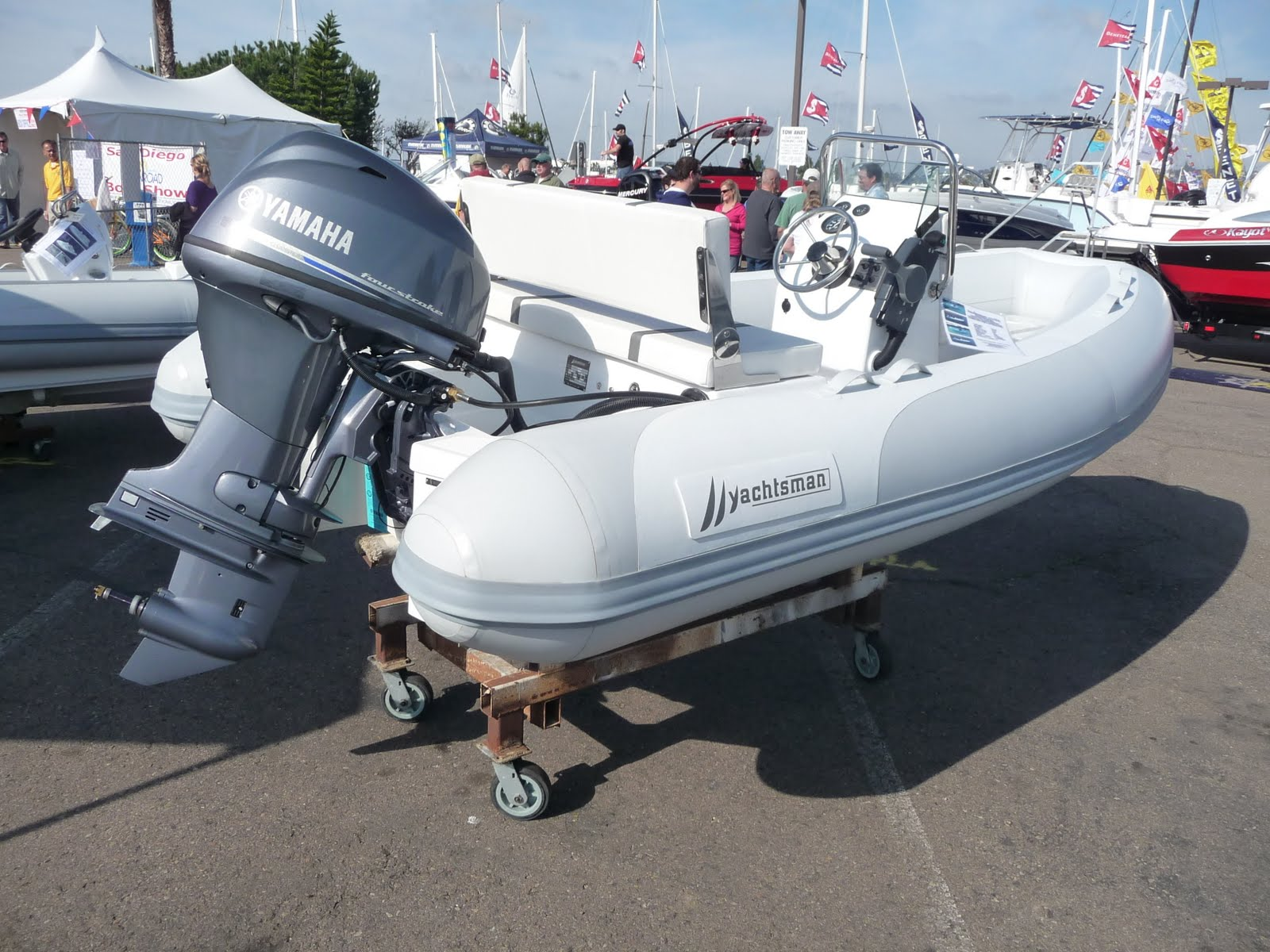 Tradewind inflatables sales service events specials for Yamaha outboard service san diego