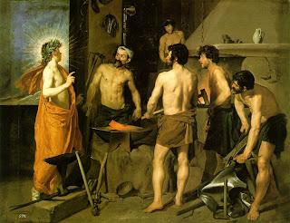 La fragua de Vulcano, Velázquez