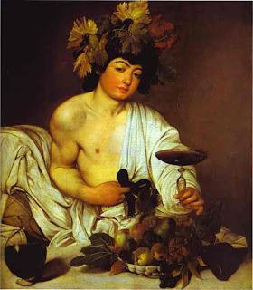 Baco, Caravaggio