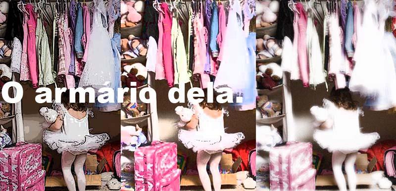 O armário dela.
