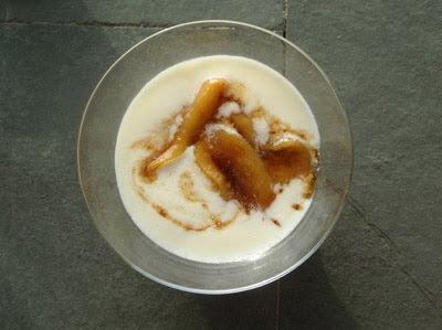 guayabos del Brasil con crema de queso