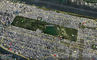 Google Earth, Central Park