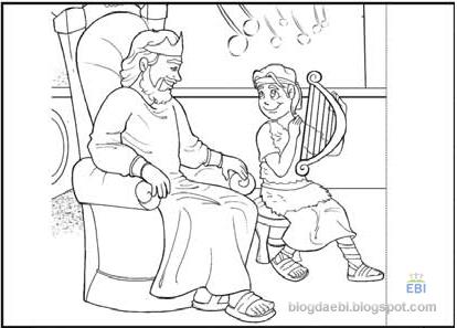 portal ebd lição 7 davi toca para saul