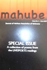 MAHUBE: WABO's Literary Journal