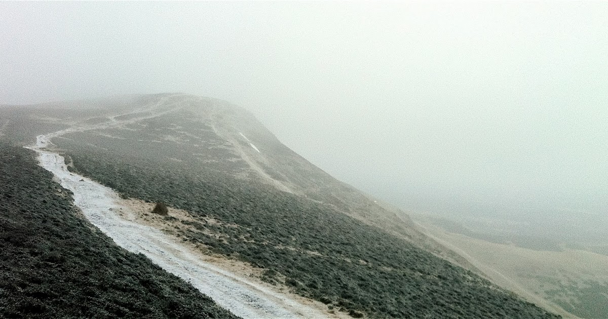 Cairn in the mist: Just Another Sunday