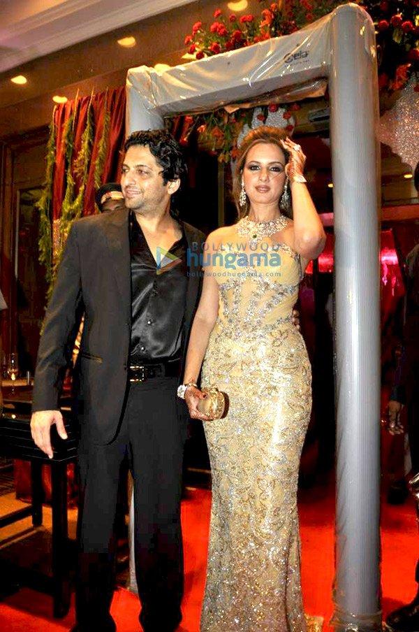Bachchans Hrithik Rekha Grace Laila Khans Wedding Reception Image
