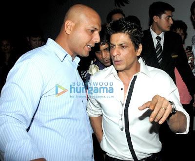Shahrukh Khan and Arjun Rampal rock KKR-RR IPL bash image