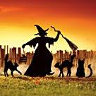 Spooky yard art...