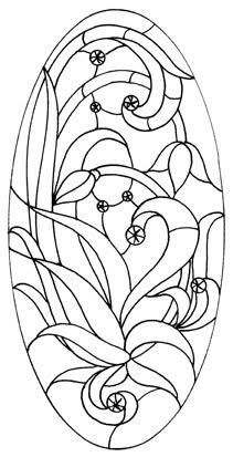 Matin lumineux dessins de vitraux - Dessin vitraux ...