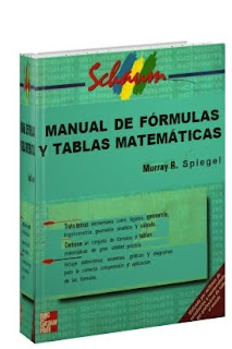Manual de Fórmulas y Tablas Matemáticas por Murray Spiegel