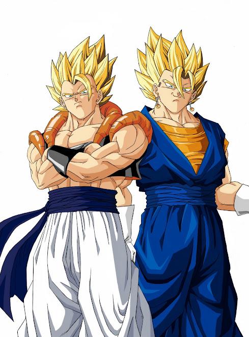 Fusiones Entre Goku y Vegeta.