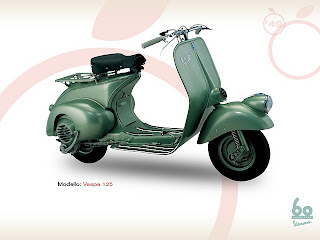 Vespa 125 1949 MOTOR