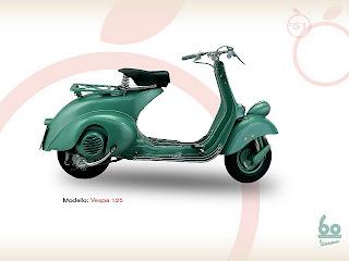 MOTOR Vespa125 1951
