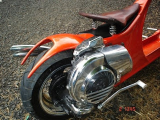 Vespa Art Chooper Modification picture