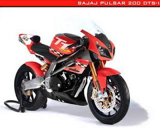 Motor cycle Bajaj Pulsar 200 DTS-I TT