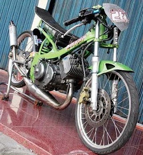 Motor Drag Modification Suzuki  RGR