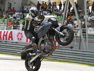 extreme motorcycle exhibition event