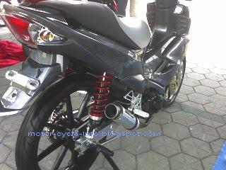 motor arashi modifikasi