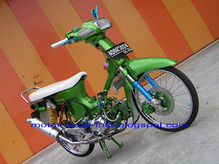 green honda grand air brush