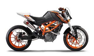 motor balap KTM 125 motorcycle