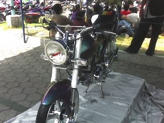 Modification Honda MEGAPRO For Contest