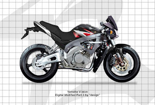 motor YAMAHA vixion digital modified