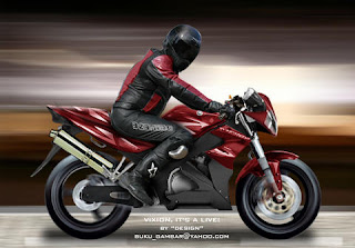 design motor YAMAHA VIXION concept