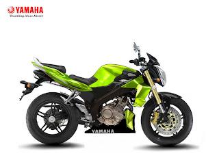motor YAMAHA VIXION green