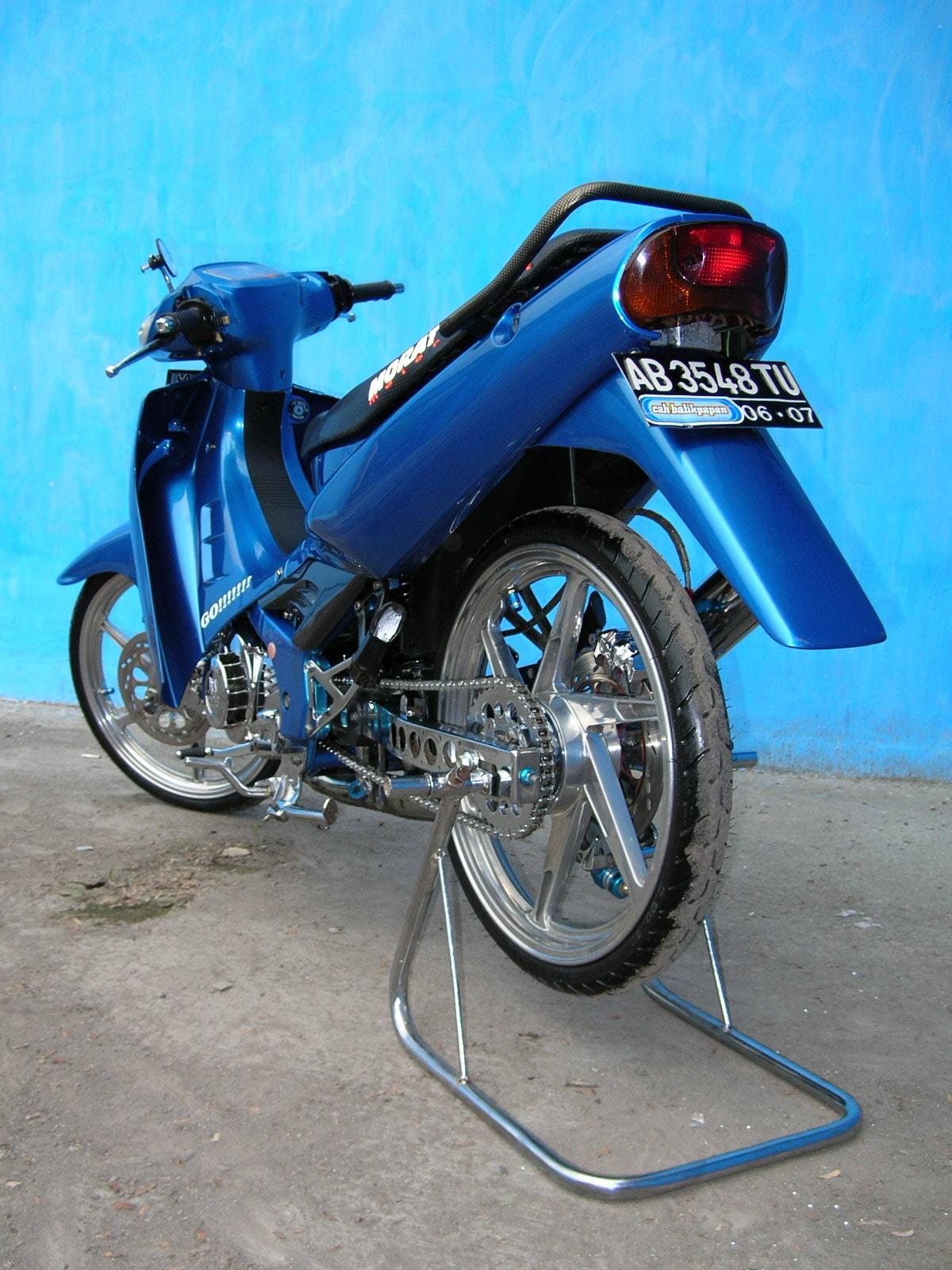 Suzuki Satria Modif
