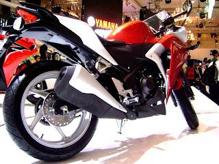 Honda CBR 250R motorcycle
