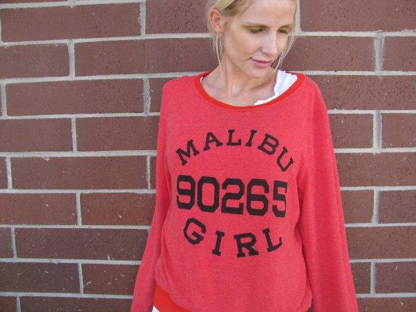 [malibu+girl+red+sweatshirt]