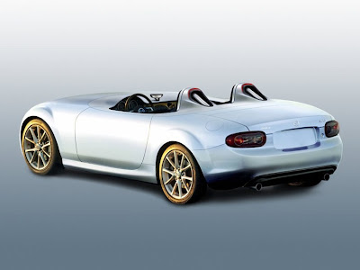 A New MX-5 Mazda Superlight Concept Car