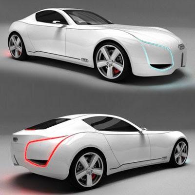 Audi Concept Car - D7 Electric