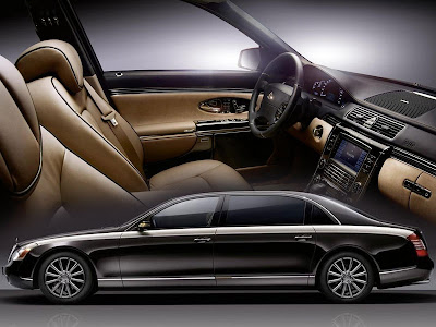 Mercedes is bringing the 2010 Maybach Zeppelin to Geneva Motor Show in March