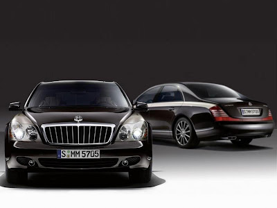2010 Maybach Zeppelin the Realm of High-end Luxury Cars