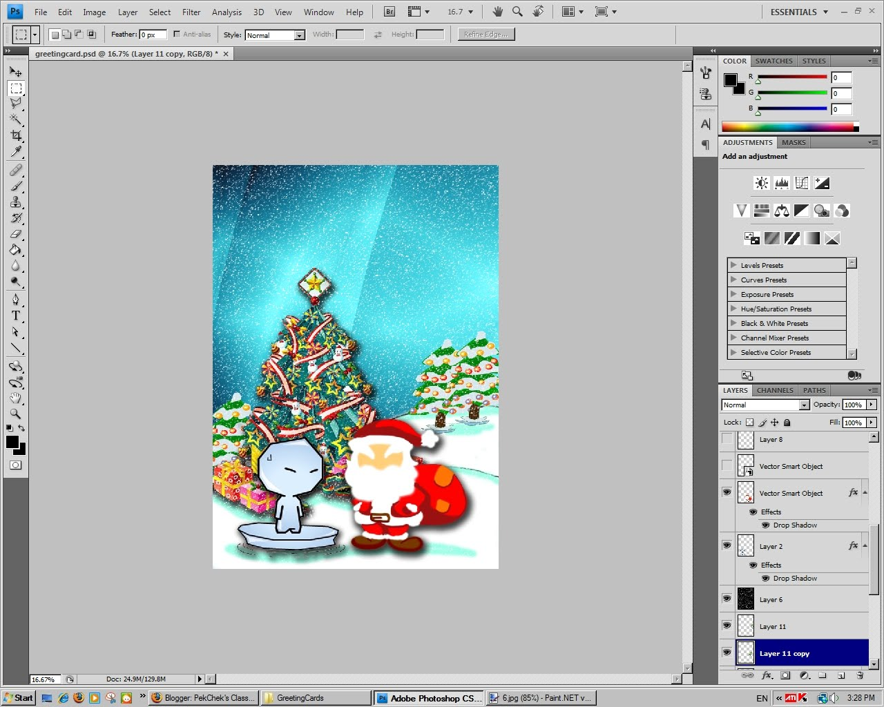 how to put a layer in front on illustrator