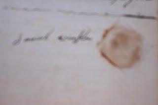 Samuel Winslow signature on Glebe document 1790