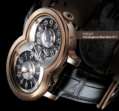 MB&F - Horological Machine 1 @ sweetassugarman.blogspot.com
