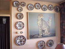Velsen polychrome wall plates