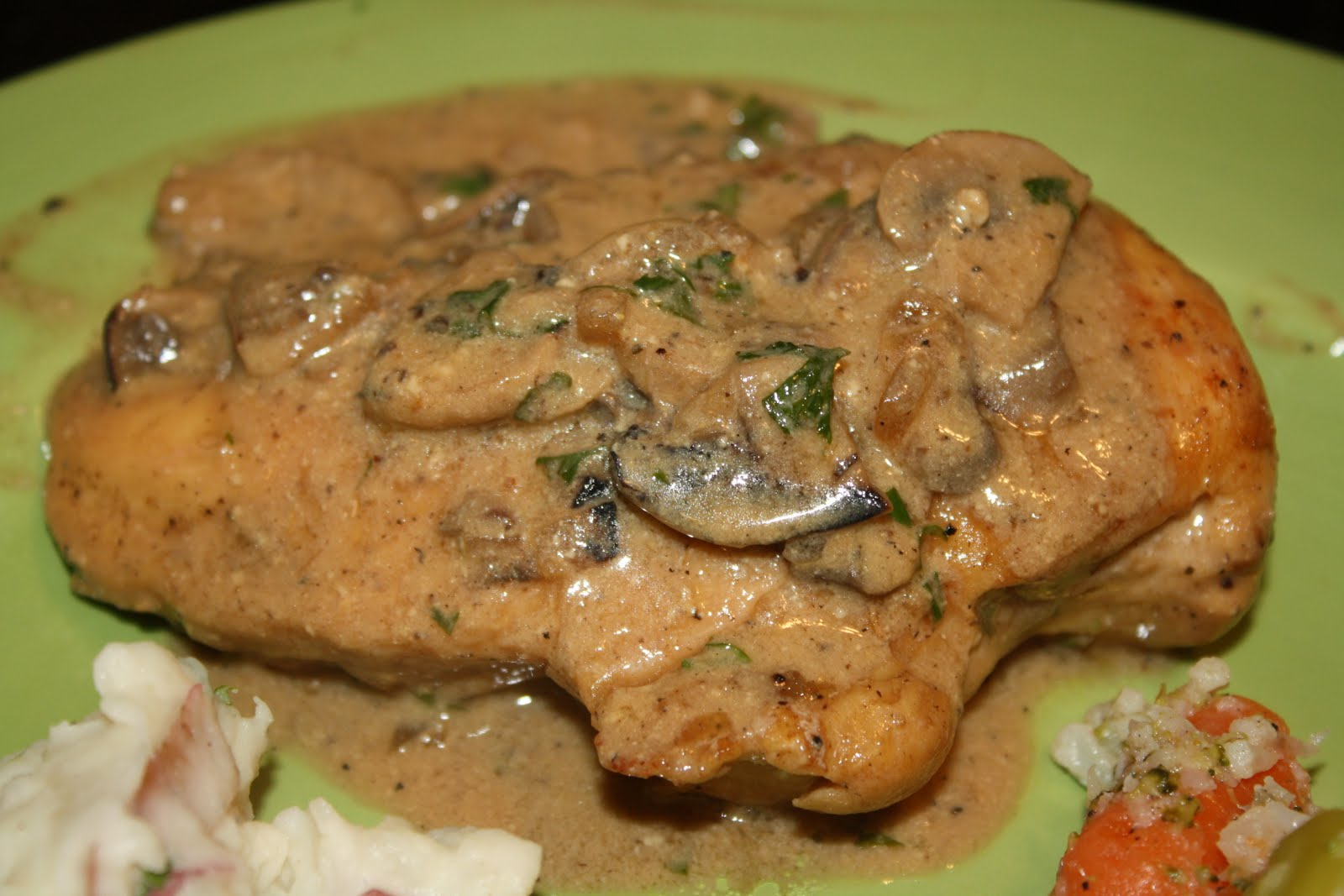 Chicken Breasts With Mushroom Sage Sauce Recipes — Dishmaps