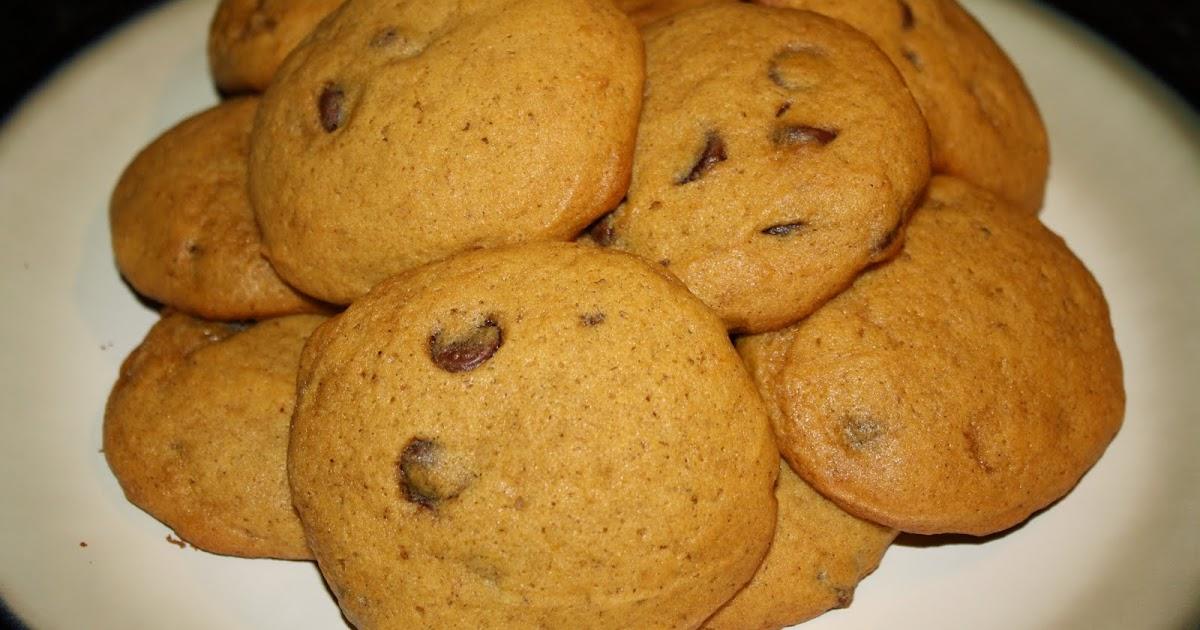Pumpkin Chocolate Chip Cookies Using Cake Mix